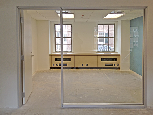 View of the Carrel Room