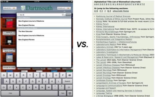 browzine vs. web