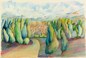 Judith Lerner painting